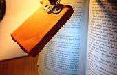 Lámpara de lectura DIY LED libro y antorcha
