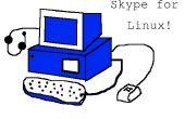 ¿Skype para linux?