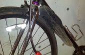 Mejorar una bicicleta guardabarros con Sugru
