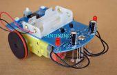 Kits DIY Smart Robot seguimiento coche seguimiento auto fotosensible