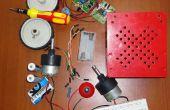 Un simple y barato bricolaje línea siguiente robot