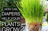Los pañales ayuda que crecen tus plantas!
