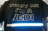 Camiseta de sable de luz