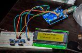 Arduino ultrasónico Distanciómetro, con pantalla lcd de I²C!
