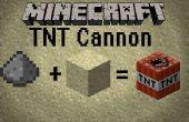 Cómo hacer un cañón de minecraft TNT