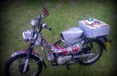 "Bicicleta en Star Wars Honda ct110 ""Postie""."