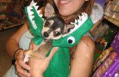 Gator, dragón, serpiente traje para perro o prop... poco costura, peso ligero y rápido