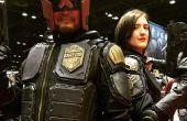 Cómo hacer un traje de Juez Dredd