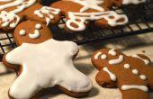 Cómo hacer galletas de jengibre hombre