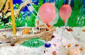 Bricolaje acuario submarino globos