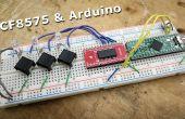 Usando el PCF8575 i2c i/o Expander a leer entradas con Arduino