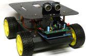 Wall-E de antisocial primo: objeto evitando Arduino controla Robot!