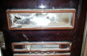 Reemplazar una ventana de mica (Glimmerfenster) en un horno de Meller
