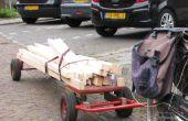 4 rueda bicicleta trailer, versión 2