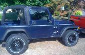 Reemplazar un Sensor de posición del acelerador en un Jeep Wrangler