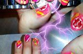Hover Board Nails - BTTF