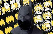 Batman capucha del arte de la espuma