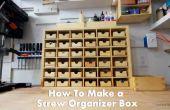 Cómo hacer una organizador caja para guardar tornillos