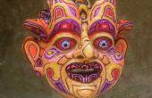 Hilado y máscara de pegamento caliente del derretimiento