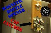 Cómo hacer un abrelatas de botella con una tapa magnética atracción