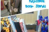 Recuperar soportes libro ajustable madera