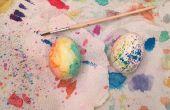 Huevos de Pascua acuarela