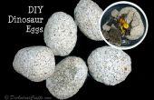 Huevos de dinosaurio DIY