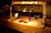 Cómo construir un soporte ligero de la fotografía de alimentos