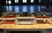 Kinograph v0.1 DIY Film Scanner/Telecine - montaje de la máquina