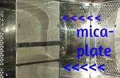 Mantenimiento preventivo en un horno de microondas