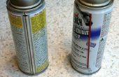 Hacer un disco funda boquilla puede Spray, utilizando Sugru