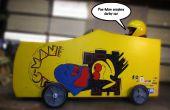 Pac-Man Soapbox Derby coche