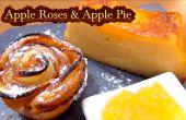 Cómo hacer rosas de manzana y una deliciosa tarta de manzana