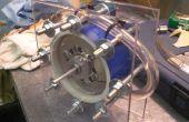 Cómo hacer una turbina de Tesla (turbina verde)