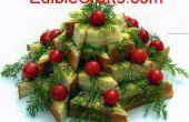 Aperitivos de Navidad - árbol de Navidad de la diversión