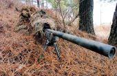 Camuflaje Sniper bunker/trinchera