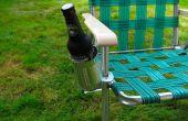 Un sostenedor de taza (extraíble) para cualquier silla
