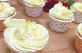 Cupcakes de limón Zesty