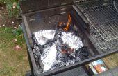 BBQ asado papillotes de pollo
