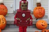 Hierro hombre Lego traje
