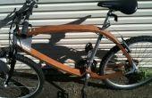 Bicicleta de madera 2