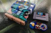 Personalizado pintado Super Mario World Super Nintendo
