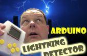 Detector de rayos de Arduino bolsillo