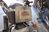 Cómo construir un soporte de EZTag para una moto