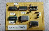 SPI Neopixel convertidor