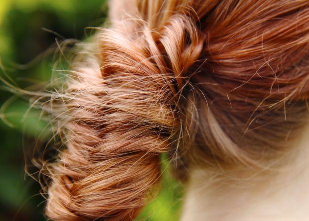 Peinado de trenza cola de pescado