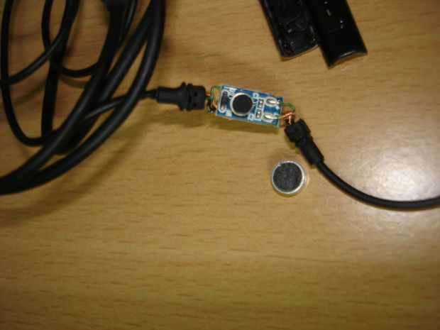 MINI MICROFONO ESPIA GSM ACTIVADO POR VOZ