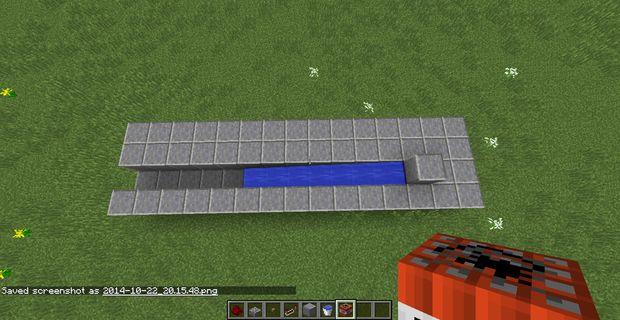 Cómo Hacer Un Cañón De Minecraft 5 Tiros Paso 3 Medias
