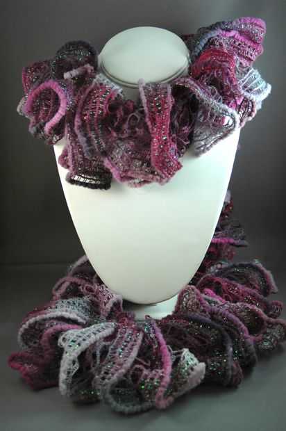 La colmena adorable bufanda instrucciones (pirueta de los Patons ...