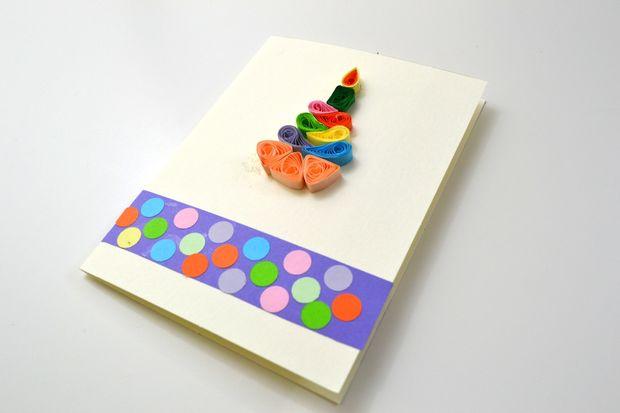 Como Hacer Tarjetas De Quilling Para Cumpleanos Diy Artes De Papel - Hacer-tarjetas-de-cumpleaos